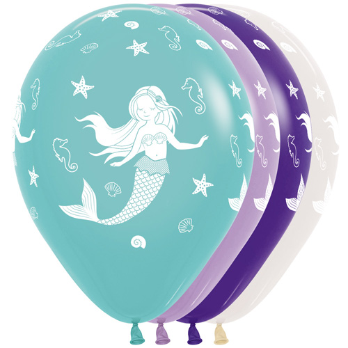 Sempertex Latexballons Meerjungfrau 12 inch / 30 cm