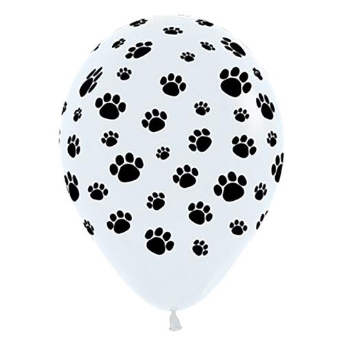 Sempertex Latexballons Pfoten 12 inch / 30 cm