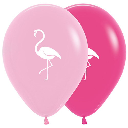 Sempertex Latexballons Flamingo 12 inch / 30 cm