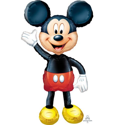 Anagram Folienballon Airwalker Mickey Mouse