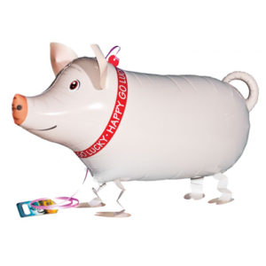 Airwalker / Walking Balloon Pig / Schwein