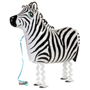 Airwalker / Walking Balloon Zebra