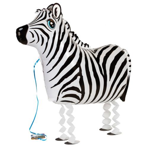 Airwalker / Walking Balloon Zebra
