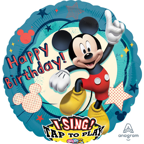 Singender Ballon Happy Birthday – Mickey Mouse