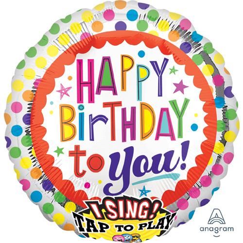 Singender Ballon Happy Birthday – Party