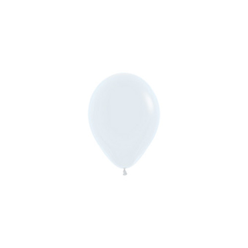 Sempertex Latexballons Fashion Solid White / Weiss 5 inch / 12 cm