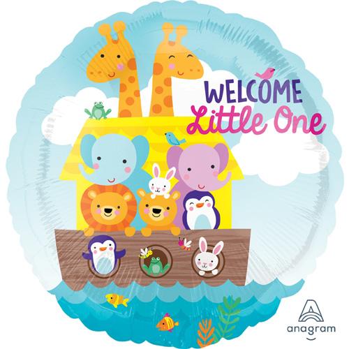 "Anagram Folienballon ""Welcome Little One"""