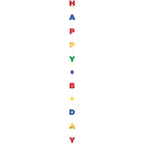 Balloon Tail Happy B-Day