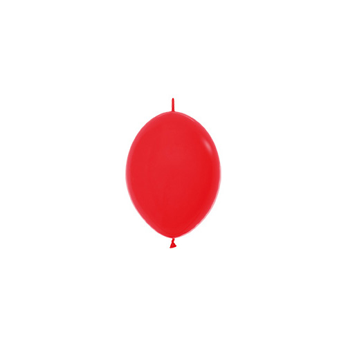 Sempertex Latexballons Link-o-Loon Fashion Solid Red 6 inch / 15 cm