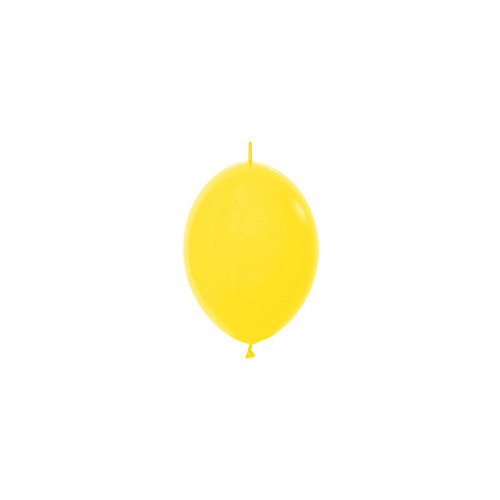 Sempertex Latexballons Link-o-Loon Fashion Solid Yelow 6 inch / 15 cm