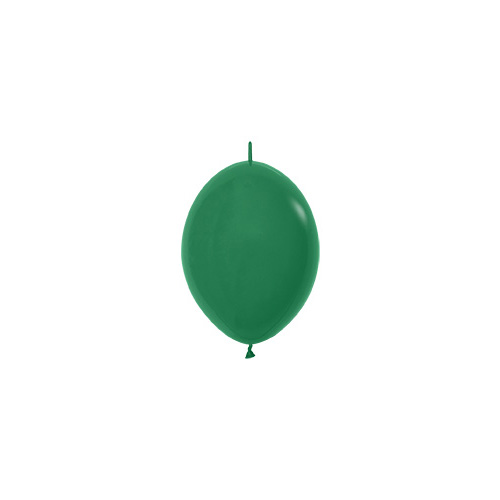 Sempertex Latexballons Link-o-Loon Fashion Solid Forest Green 6 inch / 15 cm