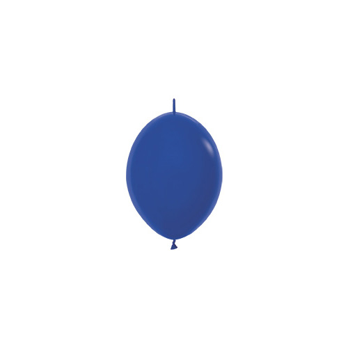 Sempertex Latexballons Link-o-Loon Fashion Solid Royal Blue 6 inch / 15 cm