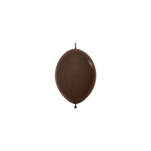 Sempertex Latexballons Link-o-Loon Fashion Solid Chocolate 6 inch / 15 cm