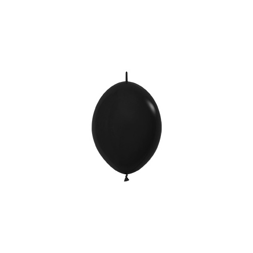 Sempertex Latexballons Fashion Solid Black 12 inch / 30 cm