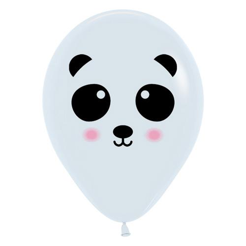 Sempertex Latexballons bedruckt Panda 12 inch / 30 cm