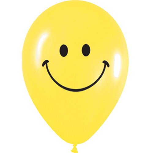 Sempertex Latexballons Smiley 12 inch / 30 cm