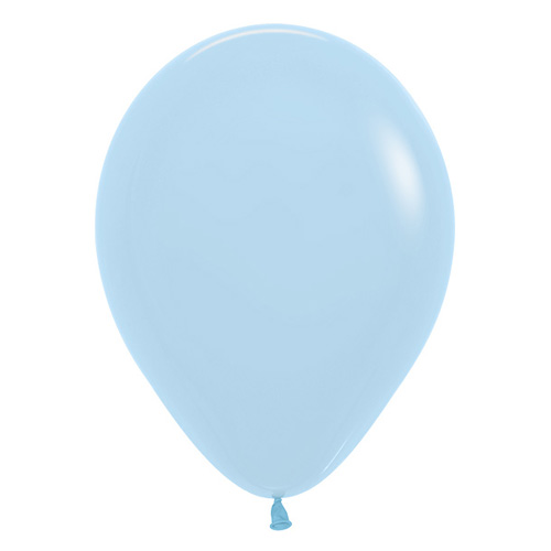 Sempertex Latexballon Fashion Solid Light Blue / Hellblau 12 inch / 30 cm