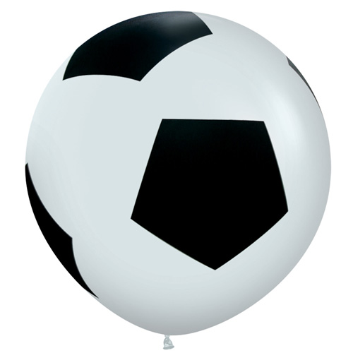 Sempertex Latexballons Fussball 36 inch / 90 cm