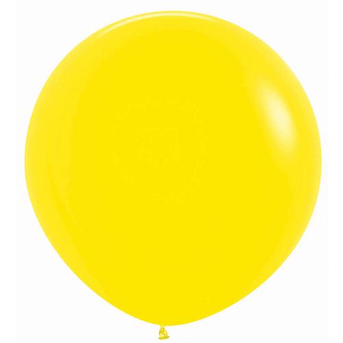 Sempertex Latexballons Fashion Solid Yellow 36 inch / 90 cm