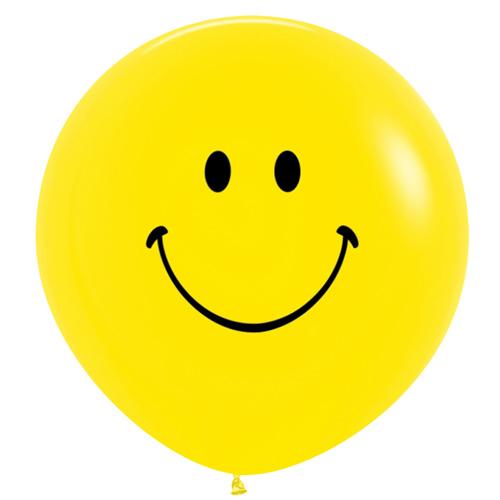 Sempertex Latexballons Smiley 36 inch / 90 cm