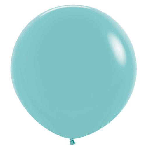 Sempertex Latexballons Fashion Solid Aquamarina 36 inch / 90 cm
