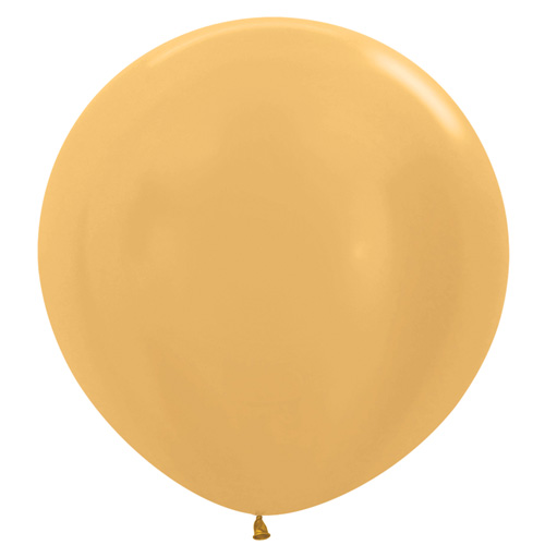 Sempertex Latexballons Metallic Pearl Gold 36 inch / 90 cm