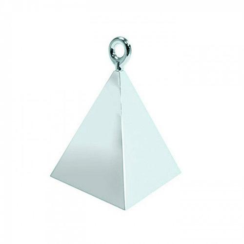 Ballongewicht Pyramide Silber