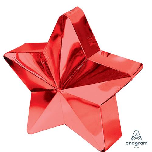 Ballongewicht Stern Rot
