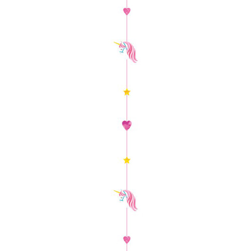 Balloon Tail Unicorn / Einhorn 1.8 m