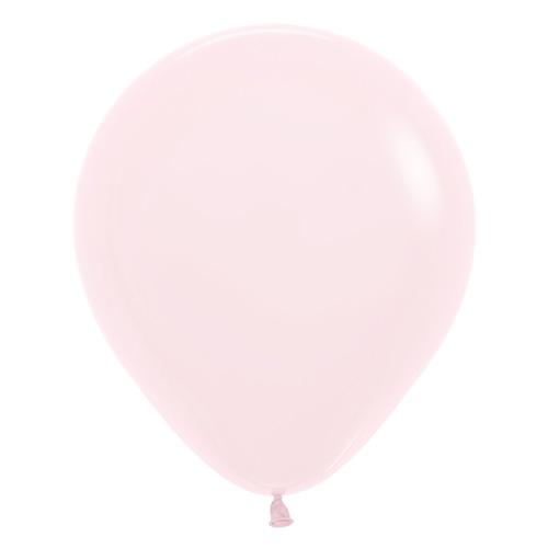 Sempertex Latexballons Patel Matte Pink / Rosa 18 inch / 45 cm
