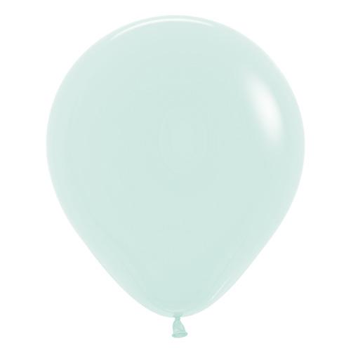 Sempertex Latexballons Patel Matte Green / Grün 18 inch / 45 cm