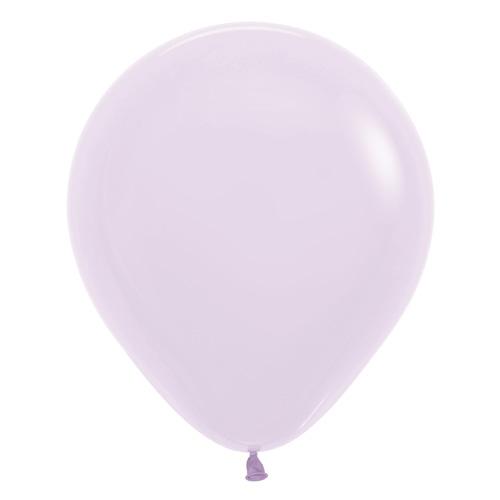 Sempertex Latexballons Patel Matte Lilac / Lila 18 inch / 45 cm